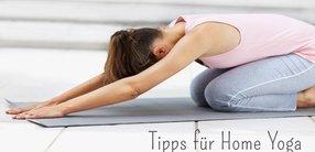 Yoga zu Hause – Tipps für Home Yoga