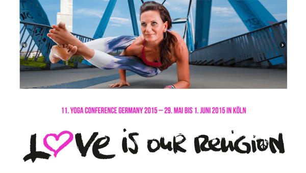 Eindrücke von der Yoga Conference Germany 2015