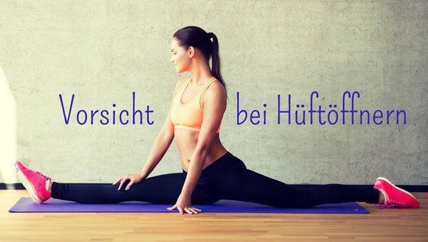 Hüftöffner im Yoga: Verletzungen vermeiden
