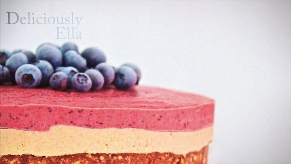 Rezept von Deliciously Ella: Beeren-Cheesecake