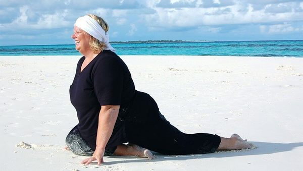 Yoga für Dicke: Birgit Feliz Carrasco über Yoga X-Large