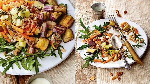 Large mag apfel dinkel salat