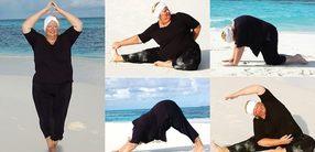 Was X-Large Yogis beachten sollten – mit 5 Asanas!