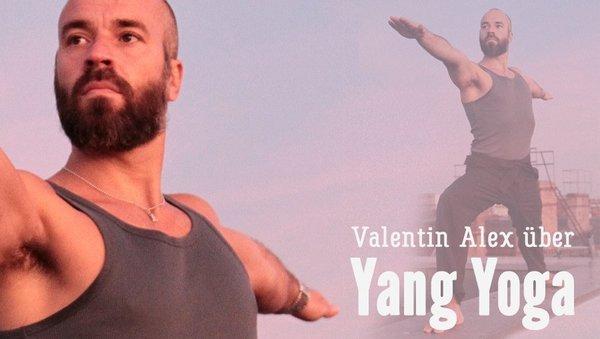Valentin Alex: Warum wir Yang Yoga brauchen