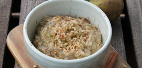 Rezept: Birnen-Zimt-Porridge