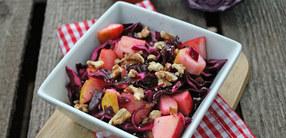 Rezept: Süßer Rotkohl Salat