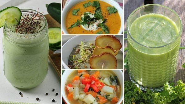 Die besten Detox-Suppen und -Drinks