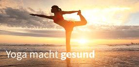 Wie Yoga auf die Gesundheit wirkt