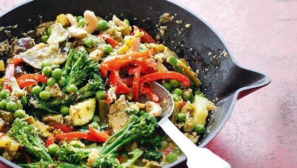 Pikante Seelennahrung: Grünes Thai-Curry