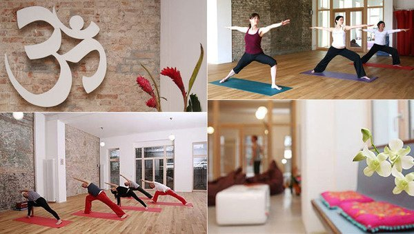 Large home yoga