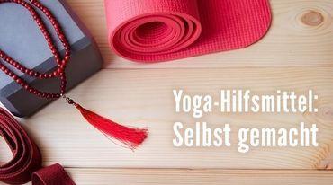 I370 208 yoga hilfsmittel  wie du sie selbst basteln kannst
