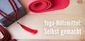 Yoga-Hilfsmittel – selbst gemacht!