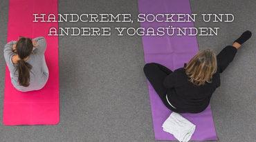 I370 208 handcreme  socken und andere yogas nden