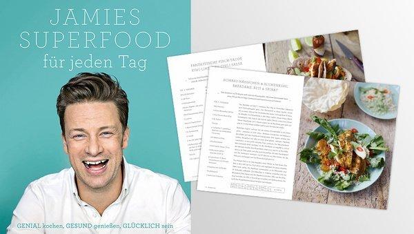Jamie Oliver: Unser Darling in der gesunden Küche