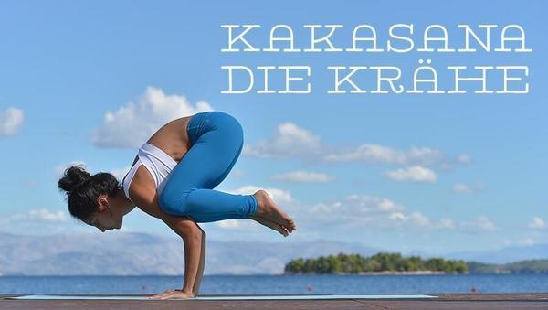 Asana des Monats: Kakasana – die Krähe