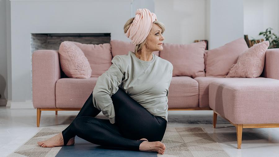 yoga haare turban