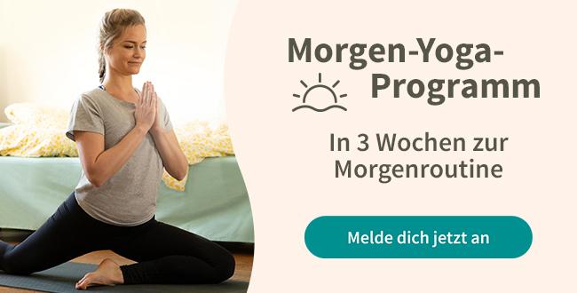 Morgen Yoga Programm