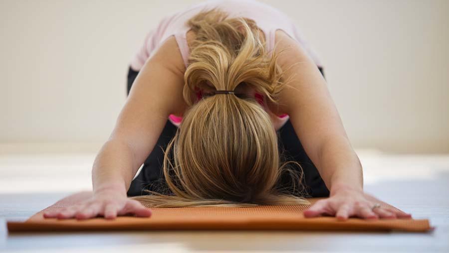 Hingabe auf der Yogamatte