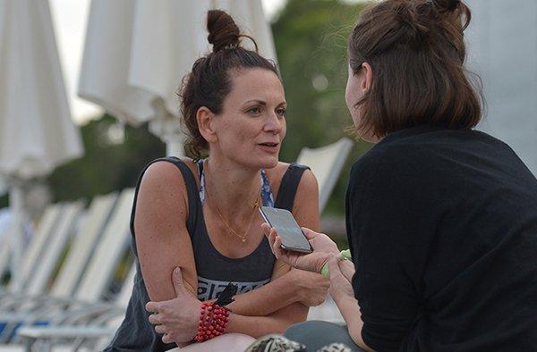 Nicole Bongartz im Gespräch