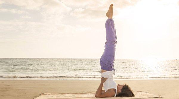 Yoga Schulterstand