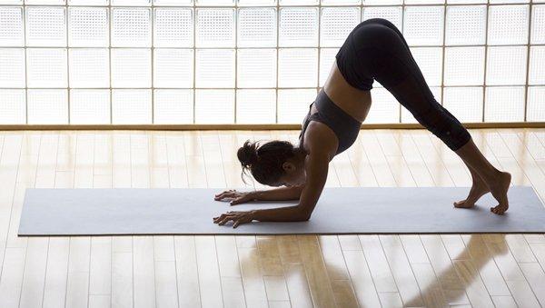 Delfin Yoga-Übung