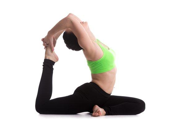 Yoga Taube