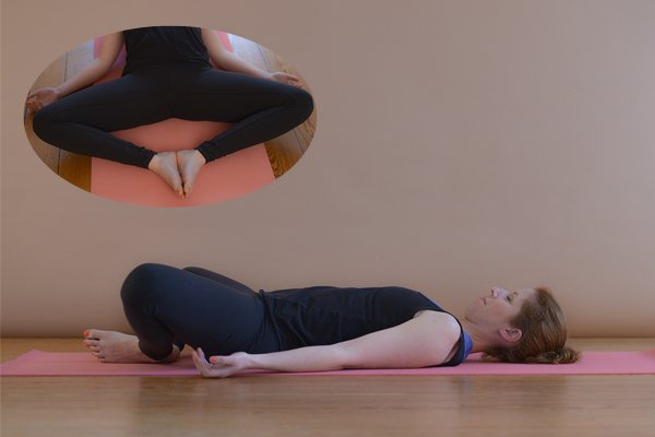 Yoga – Supta Baddha Konasana