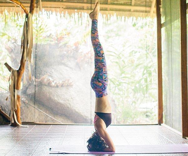 Yoga-Praxis Kopfstand