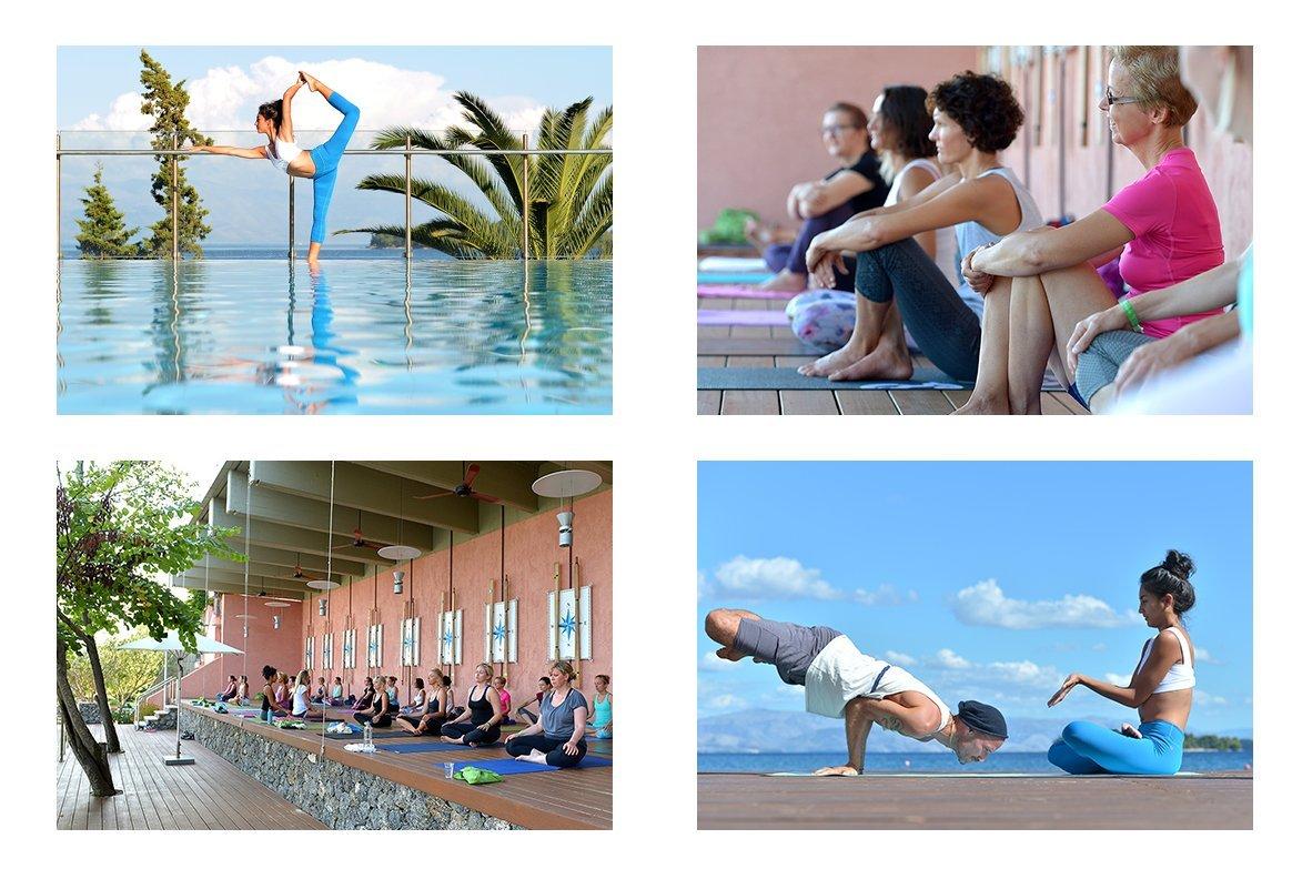 Impressionen vom YogaEasy Allstars Retreat auf Korfu