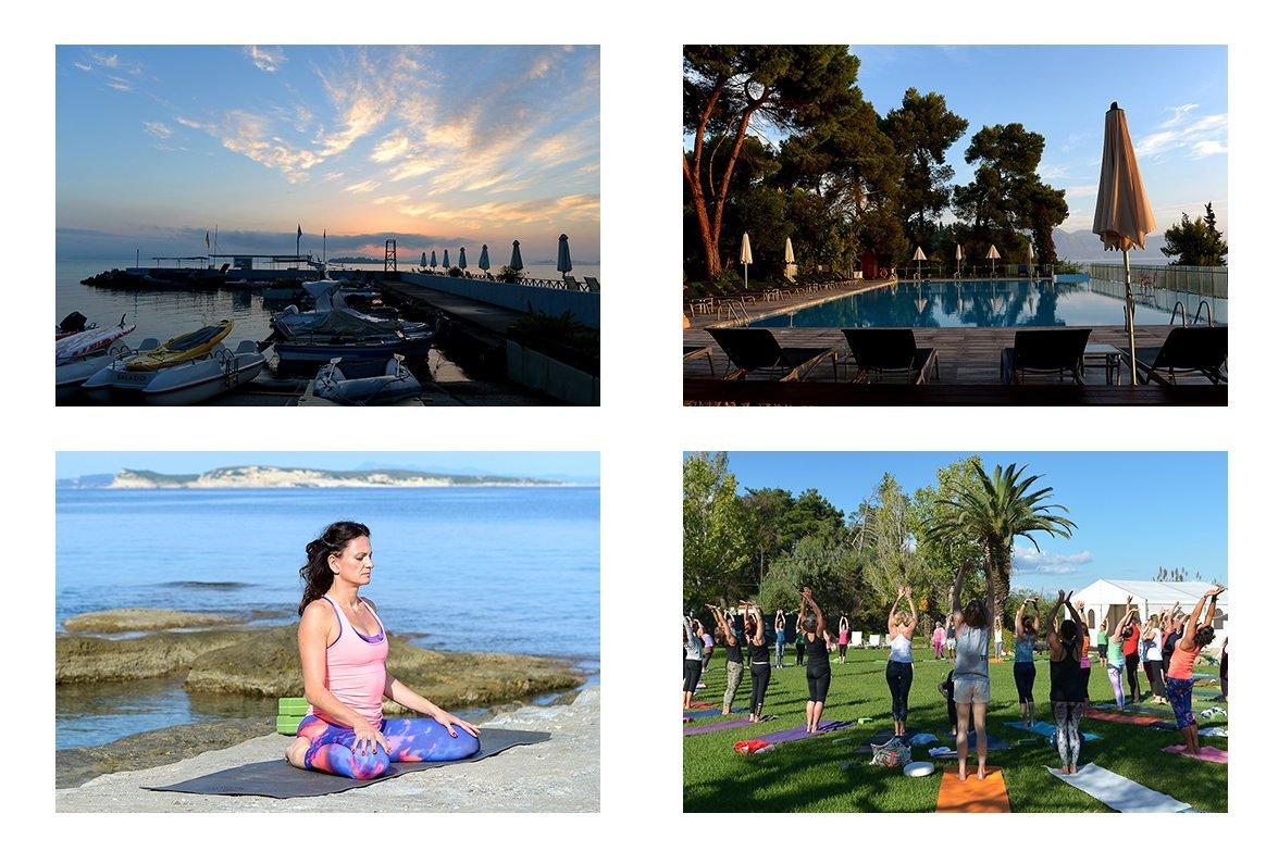 Traumhaftes Hotel und tolle Stimmung beim YogaEasy Allstars Retreat auf Korfu