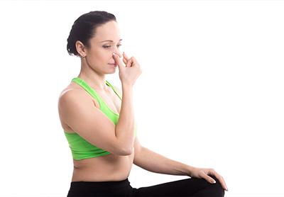 Yoga Bhastrika-Atmung