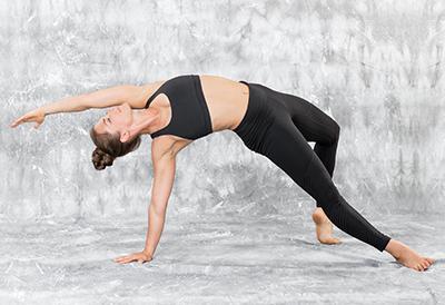 Ein gesunder Yoga Body