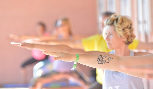 Wunderbare Yogastunden beim YogaEasy Allstars Retreat