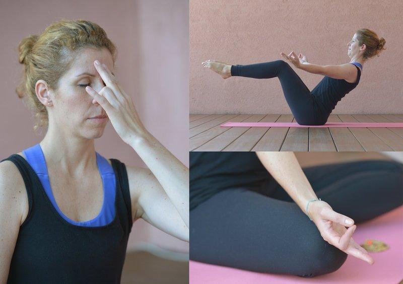 Yoga-Asanas, Pranayama und Meditation