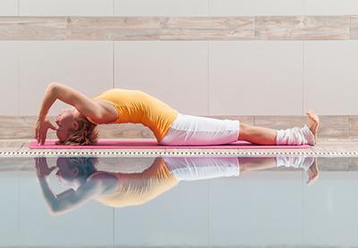Rückbeugen im Yoga: Herzöffner – der Fisch
