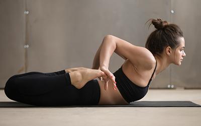 Yoga Bhekasana