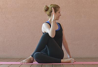 Yoga gegen Wut Drehsitz