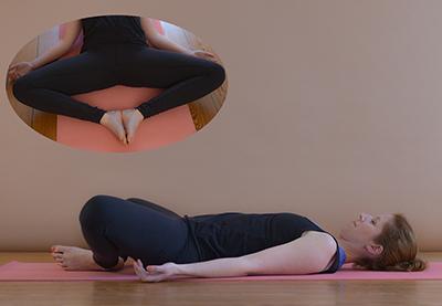 Yoga gegen Wut Baddha Konasana