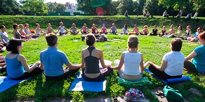Yoga ist Verbindung