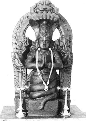 Abbildung Patanjali Statue