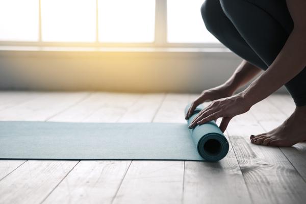 yoga anfänger matte