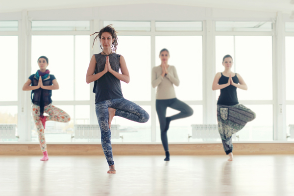 yoga anfänger gruppe
