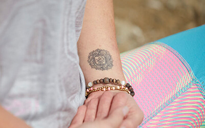 Der Yogini-Look Yoga-Style Tattoo