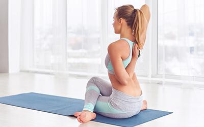 Gomukhasana Kuhgesicht Yoga Asana