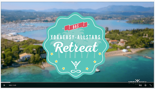 YogaEasy Allstars Retreat - Impressionenfilm