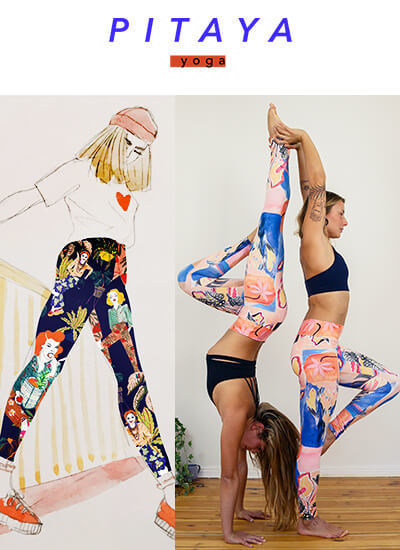 Pitaya Yoga Yogahosen Leggings