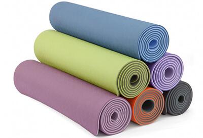 Yogamatten im Test Lotusdesign Modell Yogamatte TPE