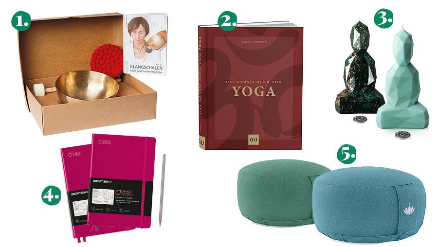 Geschenkideen für Meditationsfans