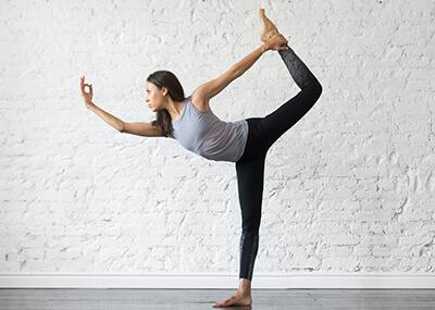 Natarajasana Tänzer Yoga