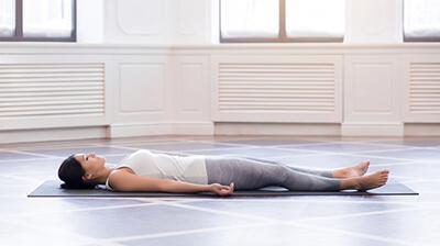 Yin Yoga Savasana